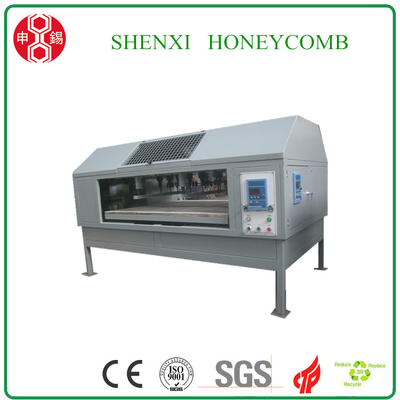 honeycomb paperboard hole making machine