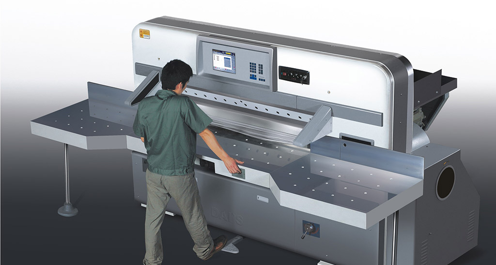 High Speed Paper Guillotine Machine
