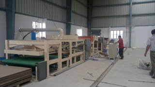 Corrugate Honeycomb Board Produce Machine