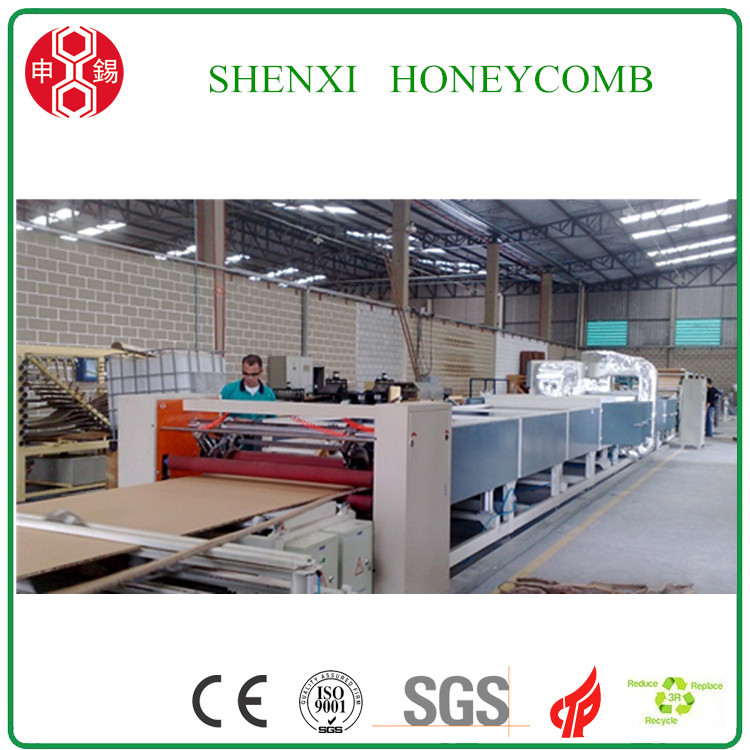 CE Standard Full Automatic Honeycomb Paper Core Making Machine