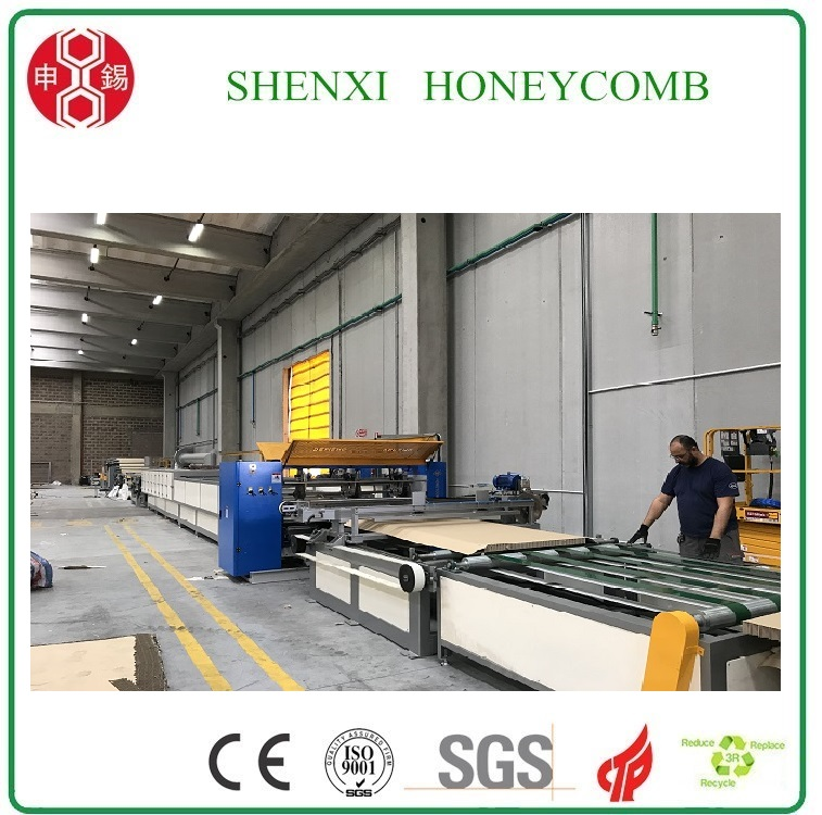 High Speed Full-Automatic Honeycomb board laminating machine for IKEA