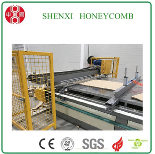 Easy Operate Full Automatic Honeycomb Paper Board Laminating Machine for IKEA