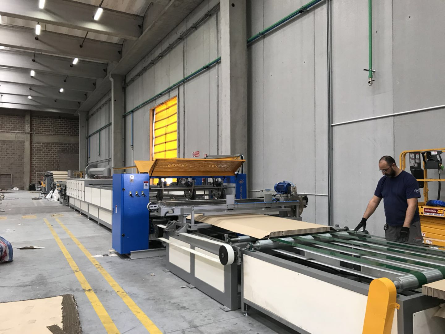 Full Automatic Paper Honeycomb Board Machine