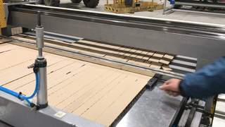 High Speed IKEA Honeycomb Paperboard Cutting Machine