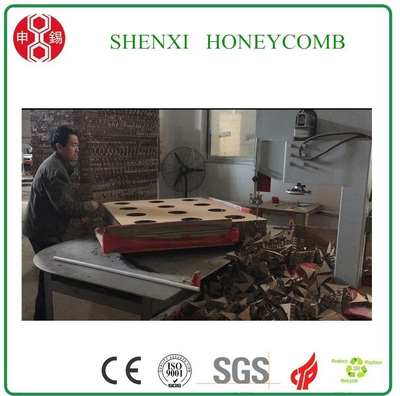 Honeycomb paperboard round corner cutting machine