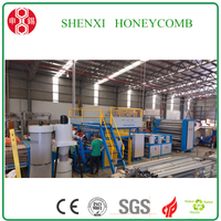 Easy Operate Endless Full Automatic Honeycomb Core Paper Machine