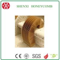 Paper Honeycomb Core for Furniture Production
