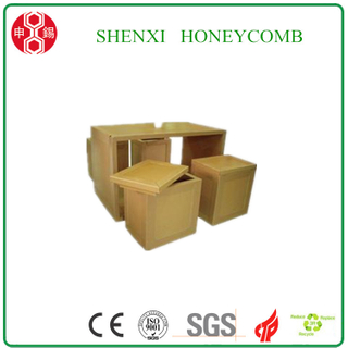 100% Recyclable Paper Honeycomb Core Cartons